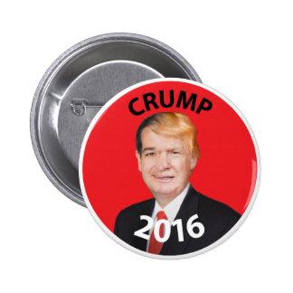Crump, Cruz Trump Composite 2016 Pinback Button