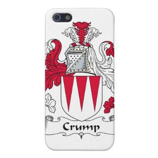 Crump el escudo de la familia iPhone 5 carcasas