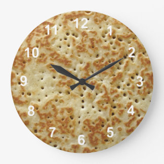 Crumpet Large Clock