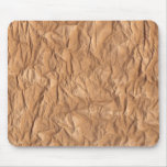 Crumpled Brown Paper Mousepad