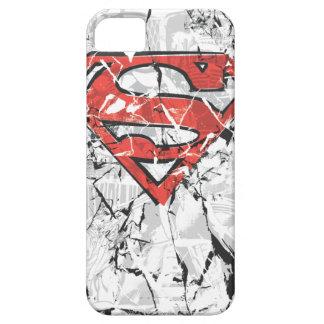 Crumpled Comic Superman Logo iPhone 5 Covers