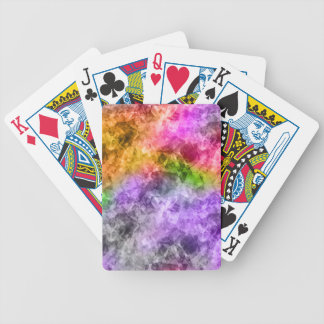 Crumpled Exotic Texture Bicycle Playing Cards
