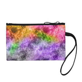 Crumpled Exotic Texture Coin Purse
