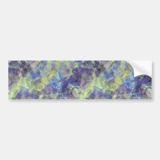 Crumpled Lavender Texture Bumper Sticker