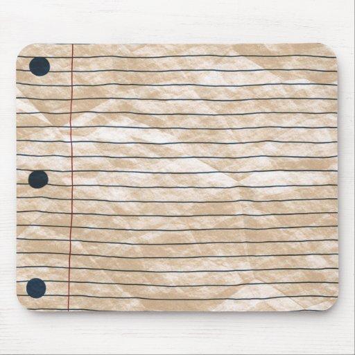 Crumpled Notepaper Mousepad