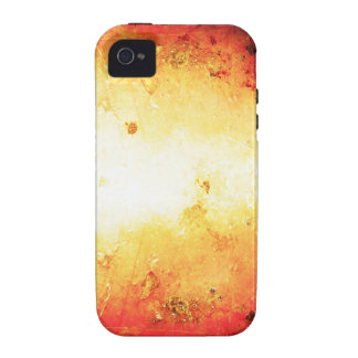 crumpled old vintage paper rusty brown art burn sm iPhone 4/4S cover