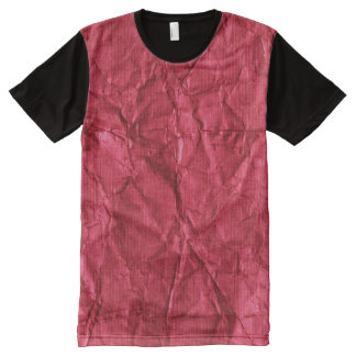 Crumpled paper All-Over-Print T-Shirt