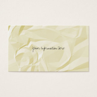 Crumpled Paper Business Cards