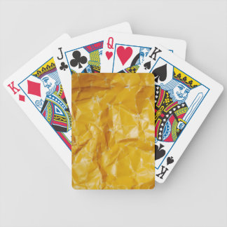 Crumpled paper design bicycle playing cards