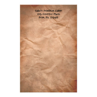 Crumpled Paper Stationery