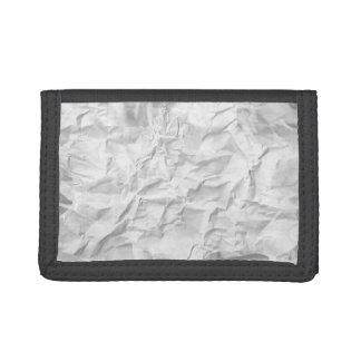 Crumpled Paper Wallet