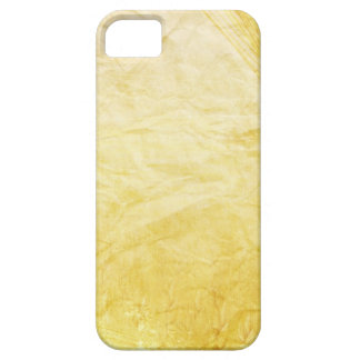 CRUMPLED PAPER YELLOWED CREAM DIGITAL TEMPLATE TEX iPhone 5 COVERS
