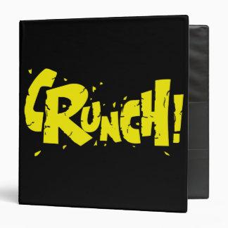 CRUNCH! VINYL BINDER