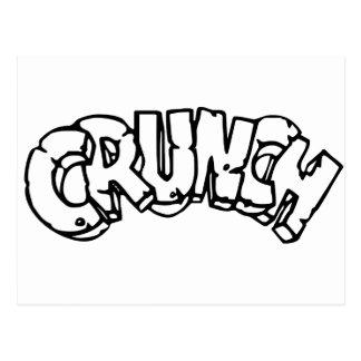 Crunch Postcard