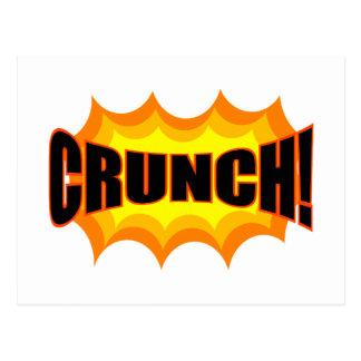 Crunch! Postcard