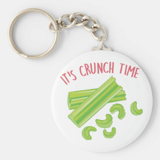 Crunch Time Keychain