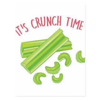 Crunch Time Postcard