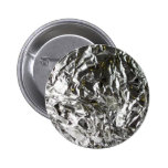 Crunched Foil Buttons