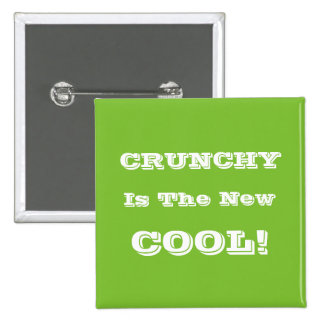 "'Crunchy' 2"" Square Button"