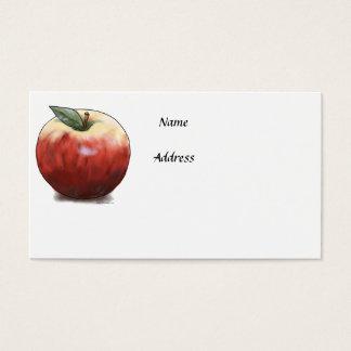 Crunchy Apple Business Card