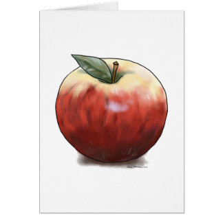 Crunchy Apple Card