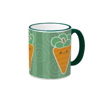Crunchy Carrots Kawaii Mug