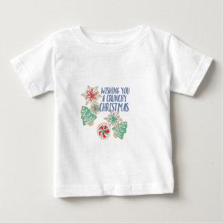 Crunchy Christmas Baby T-Shirt