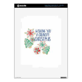 Crunchy Christmas Skin For iPad 3