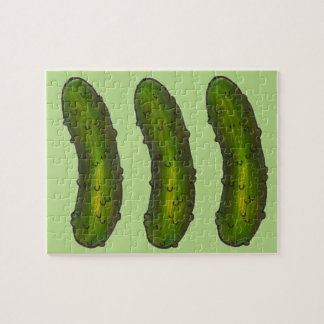Crunchy Green Dill Pickle Pickles Foodie Puzzle