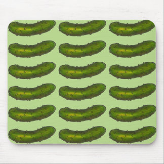 Crunchy Green Dill Pickle Pickles Mouse Pad