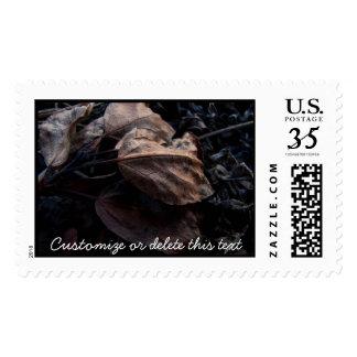 Crunchy Leaf Litter; Customizable Postage