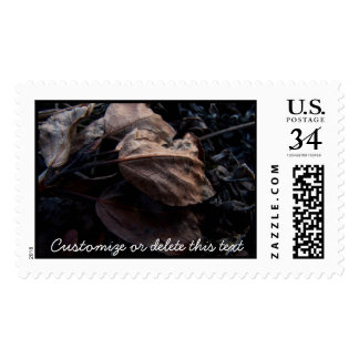 Crunchy Leaf Litter; Customizable Postage
