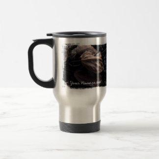 Crunchy Leaf Litter; Customizable Travel Mug