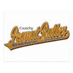 Crunchy Peanut Butter Postcard