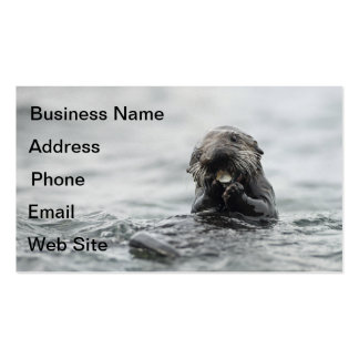 Crunchy Sea Otter Business Card