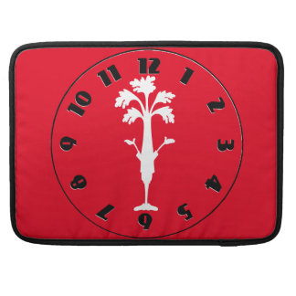 "'Crunchy Time' Red Macbook Pro 15"" Sleeve"