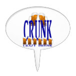 CRUNK - Loco bebido Figura De Tarta