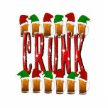 CRUNK - Navidad bebido loco Escultura Fotográfica