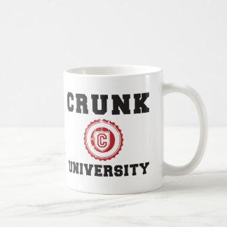 crunk university hyphy movement classic white coffee mug