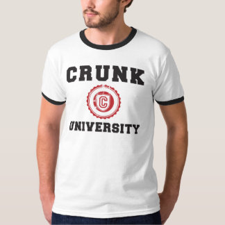crunk university hyphy movement tshirt