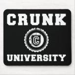 Crunk University Mouse Pad