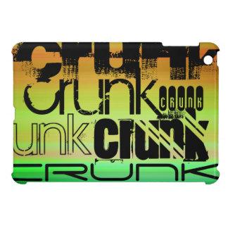 Crunk; Vibrant Green, Orange, & Yellow iPad Mini Covers