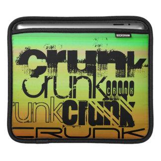 Crunk; Vibrant Green, Orange, & Yellow Sleeve For iPads