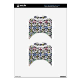 crusade pattern xbox 360 controller decal