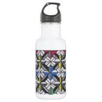 crusade pattern stainless steel water bottle