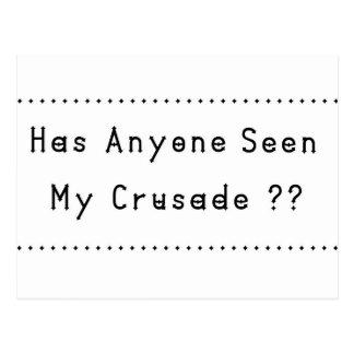 Crusade Postcard