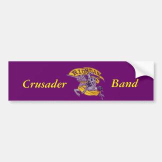 Crusader, Band Bumper Sticker