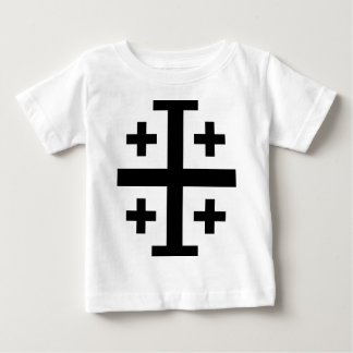 Crusader cross baby T-Shirt