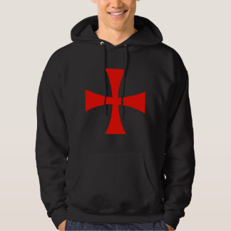 Crusader Cross Hoodie