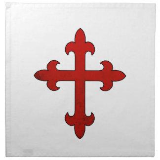 Crusader Cross Napkin